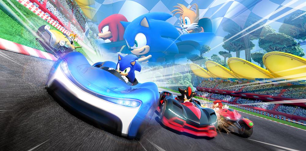 Sonic Racing Art