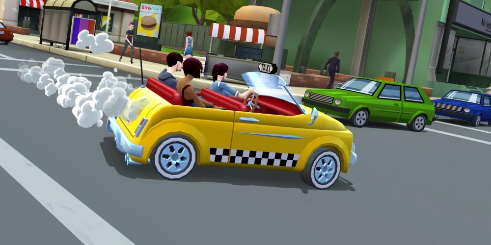 Crazy Taxi: CityRush