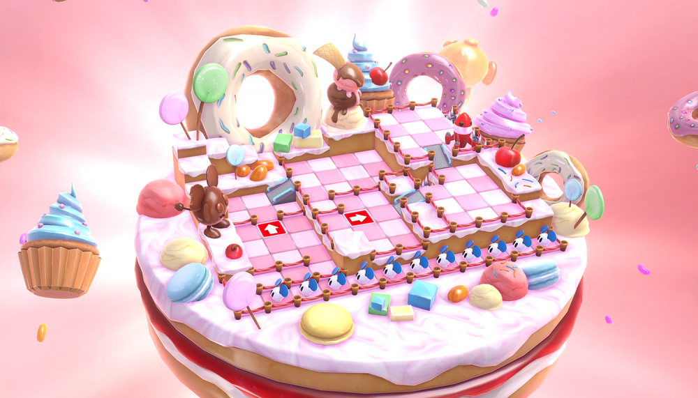 Cake level on ChuChu Rocket Universe